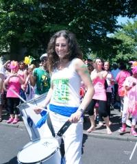 Becky Borrill, BrisArts project co-ordinator.
