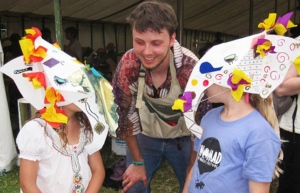 Joel Calvert, Art and Puppetry tutor