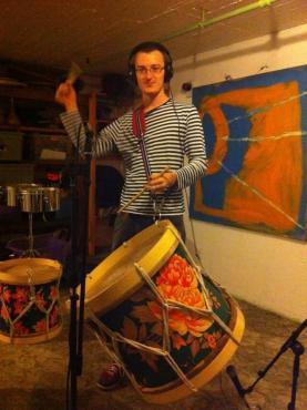 Maracatu Recording Session