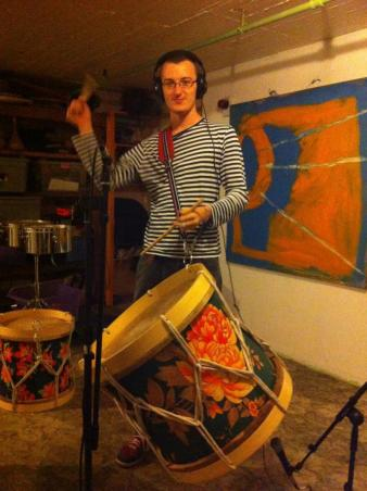 Maracatu Recording Session