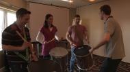 Corporate team building workshop